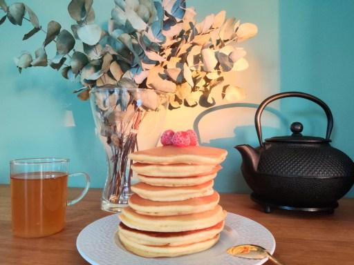 Recette pancakes Oxalis et Bergamotte Lille