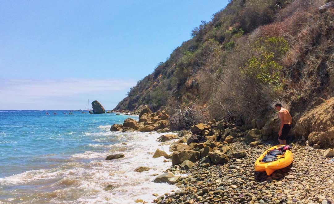 Kayaking on Catalina