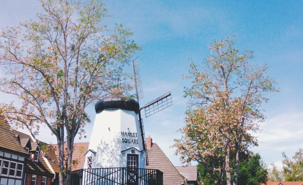 Hamlet Square in Solvang