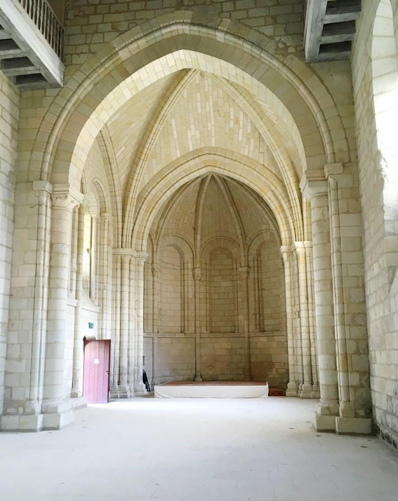 Chapelle St Benoit - Abbaye Royale de Fontevraud