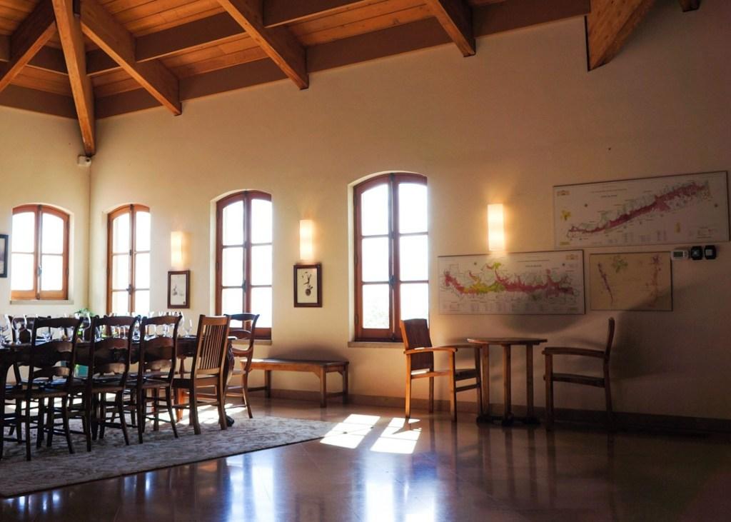 tasting room at drouhin winery oregon