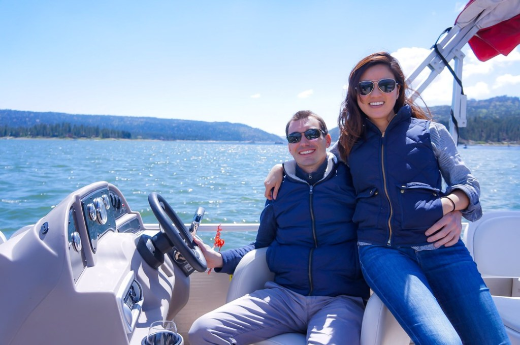 boating on big bear lake