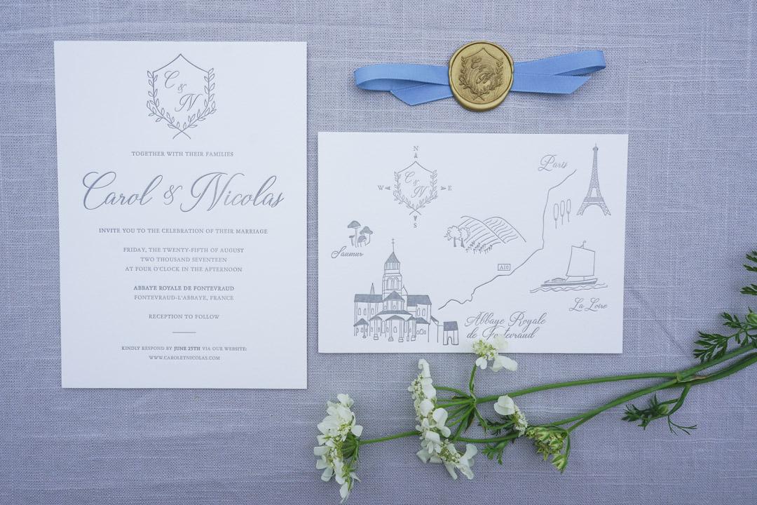 Our Wedding Invitations Part 2 Color Palette Paper Types
