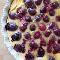Cherry Clafoutis: A French Custard Tart