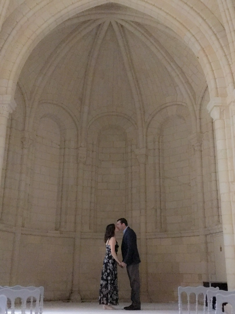 reliving the ceremony in St. Chapelle
