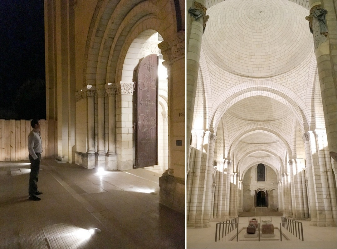 Night Tour of Fontevraud