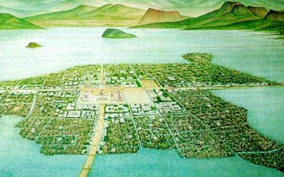 Aztec aquaculture : The Chinampas