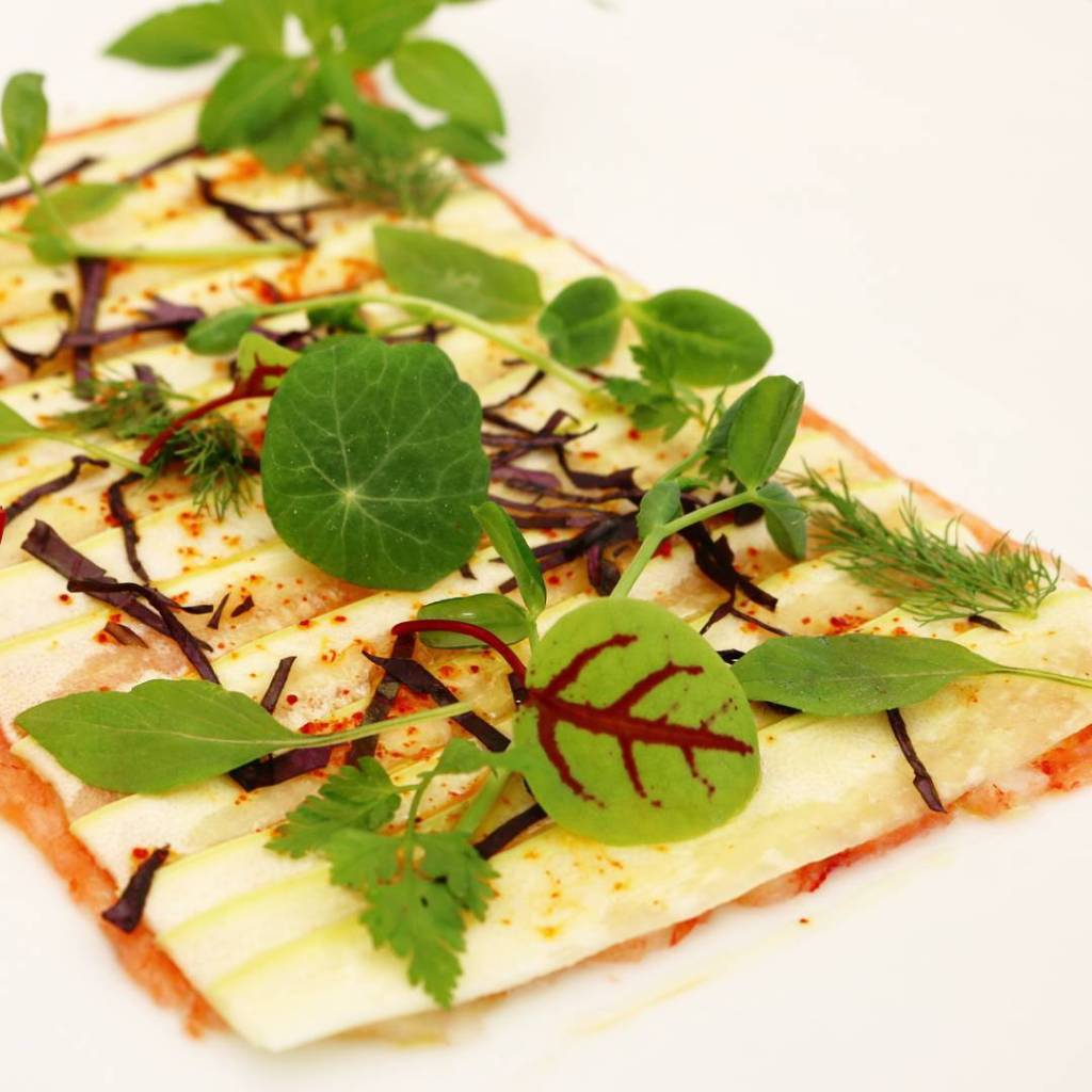 microgreens in your plate