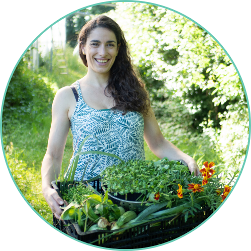 Marion Sarlé, maraîchère et formatrice en hydroponie