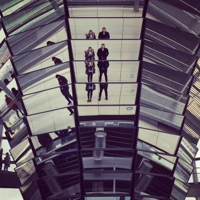 Reichstag Dome Mirror