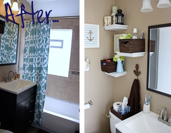 Small Bathroom Wall Decor Ideas