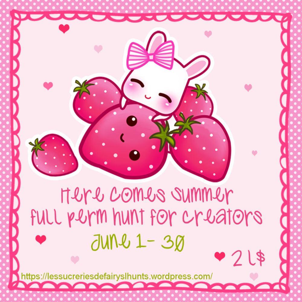 Here Comes Summer Full perm hunt for creators