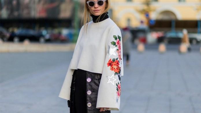 bell-trumpet-sleeve-sweaters-dresses