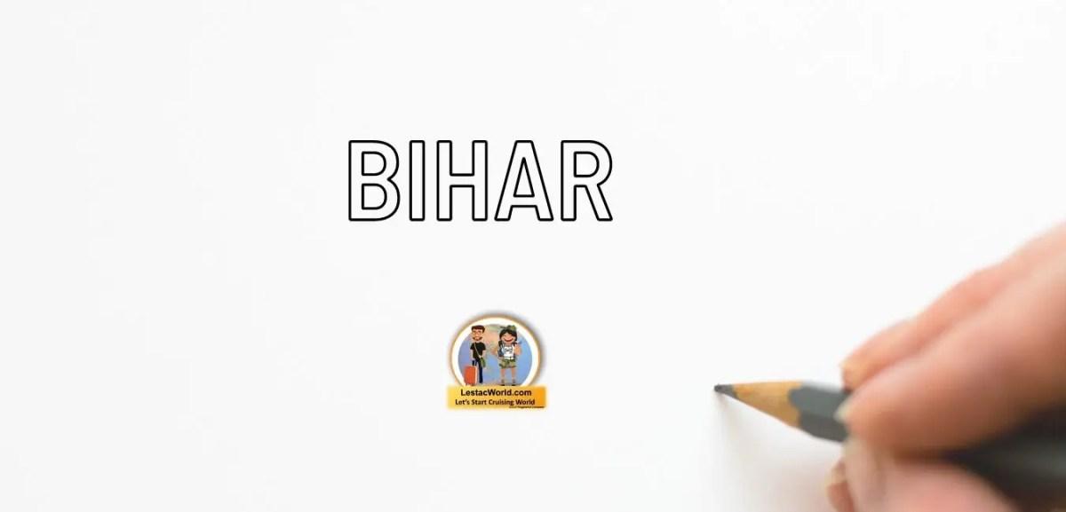 Rules & regulation before entering Bihar