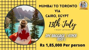 Read more about the article India to Canada Via Cairo