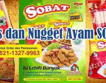 Grosir Chicken Sosis dan Nugget Ayam SOBAT Original