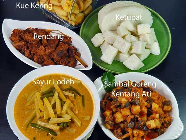 Menu Lebaran Ketupat Sayur : lebaran, ketupat, sayur, Kumpulan, Resep, Indonesia, Lebaran, Selera, Nusantara