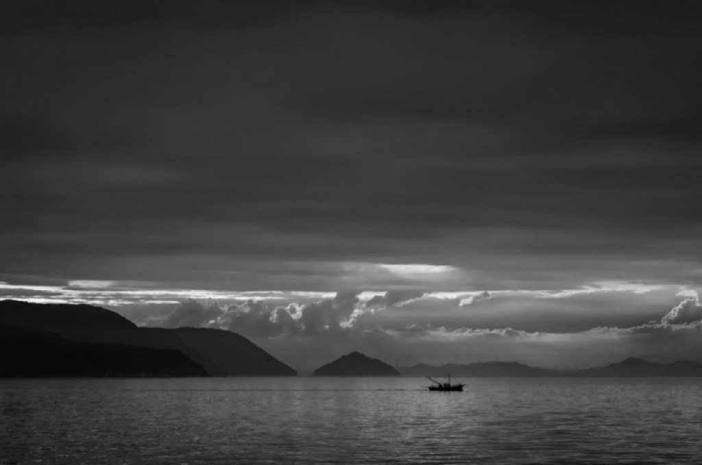 Photo of the Japan Inland Sea