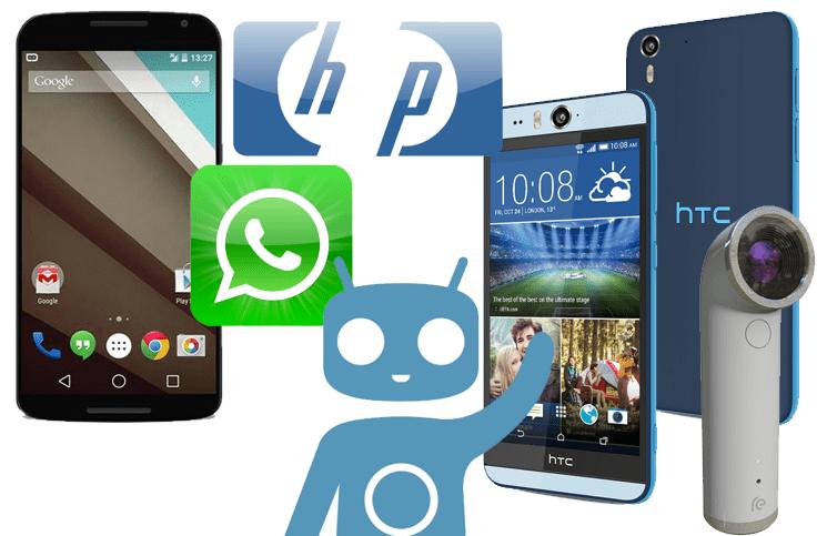 Episode 5: HTC RE, Desire Eye, CyanogenMod, Nexus 6, WhatsApp, Apple, Galaxy S5, HP,…