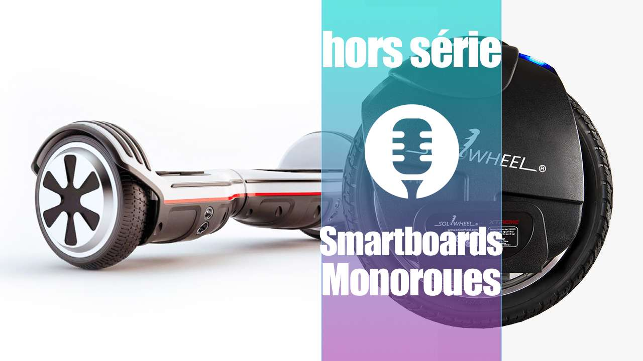 Véhicules électriques: Smartboards et monoroues
