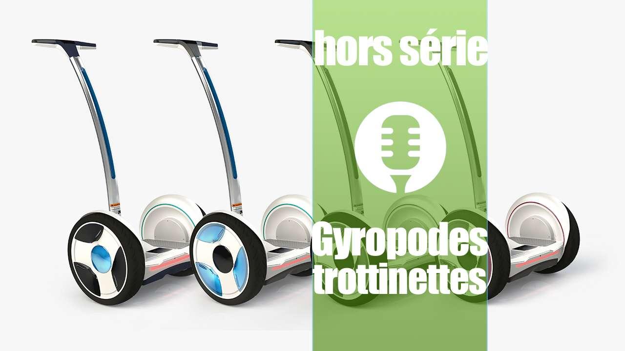 Véhicules électriques: Gyropodes et trottinettes