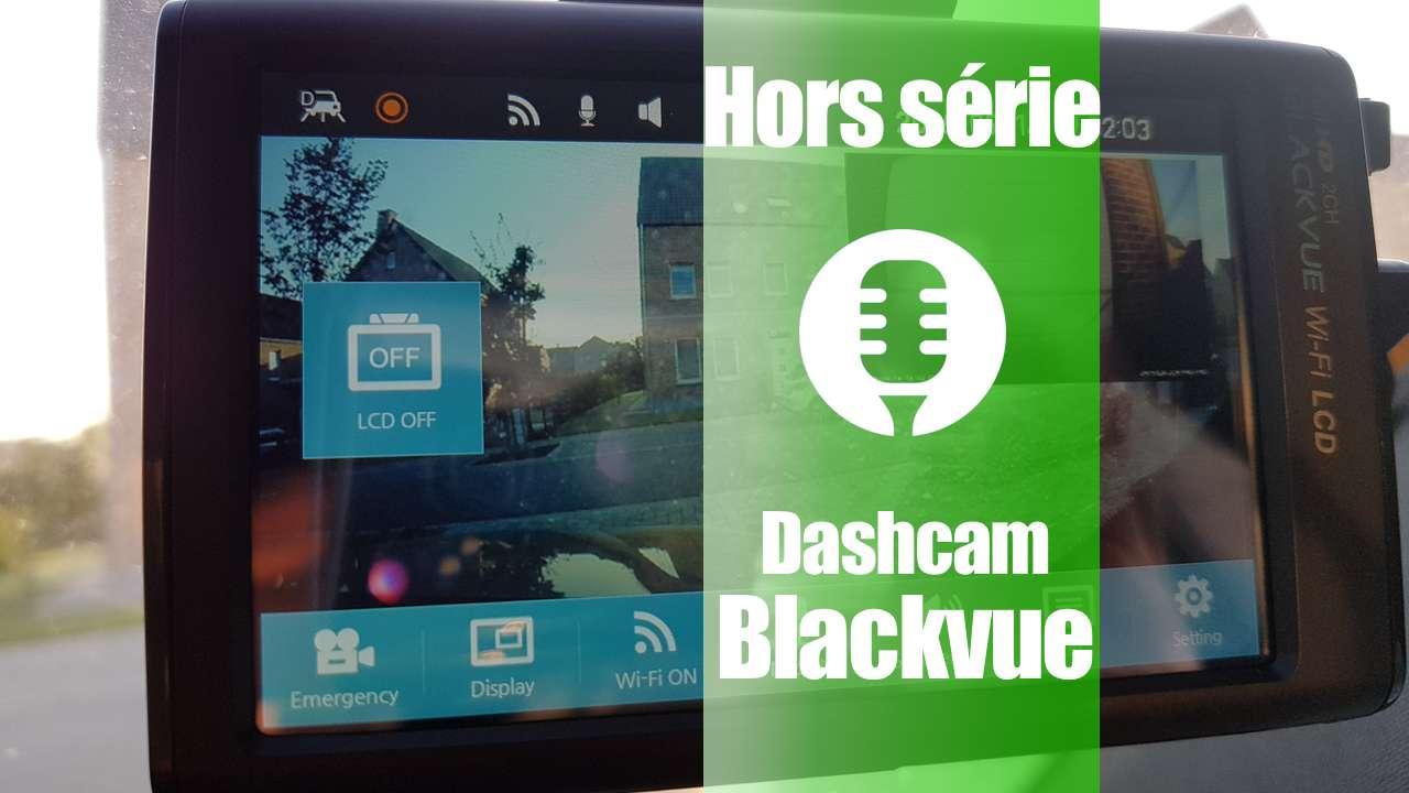 Dashcam «avant/arrière» Blackvue DR750LW-2CH (présentation)