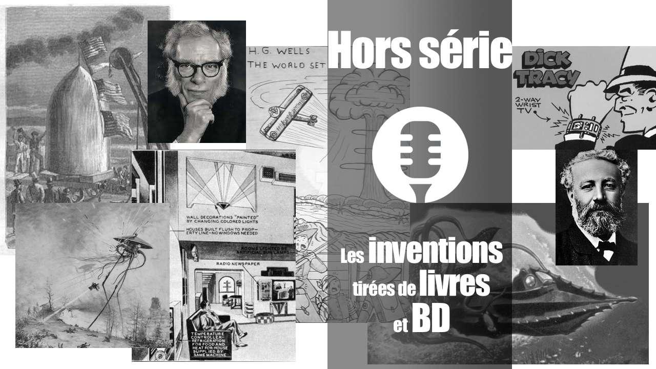 Les inventions tirées de livres et BD