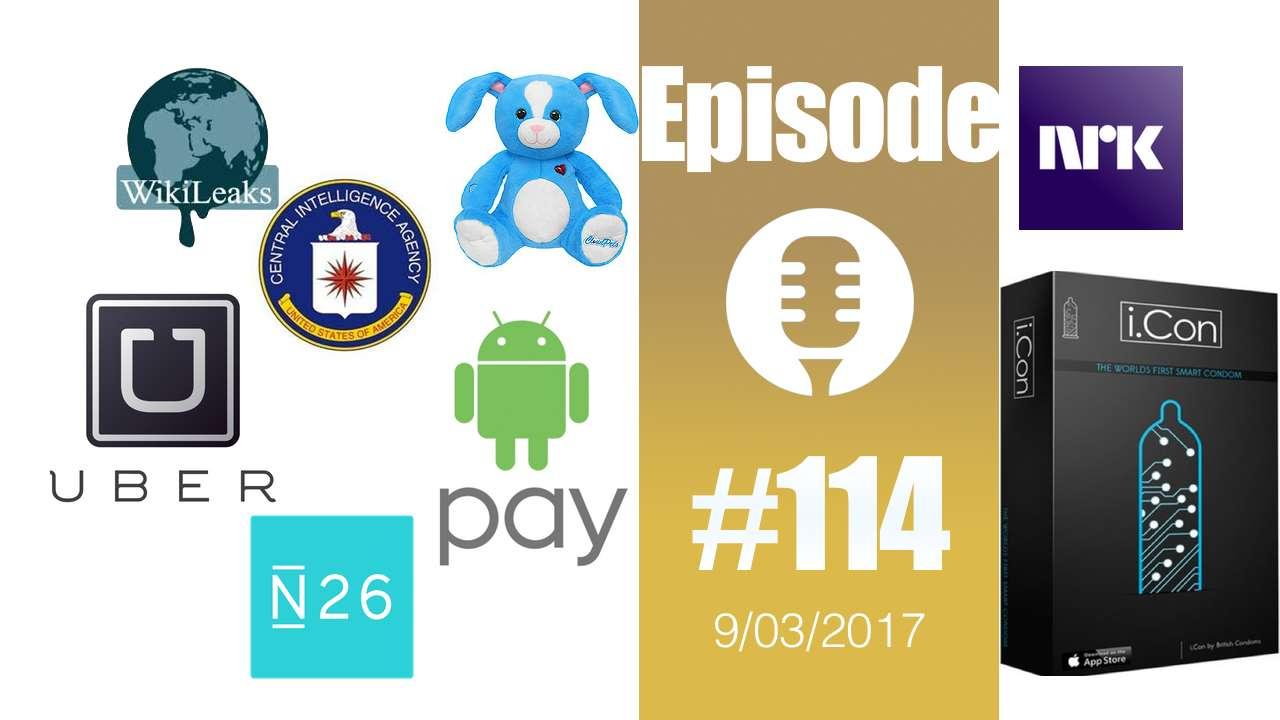 #114: Wikileaks et la CIA, concept Airbus, Greyball d'Uber, NKR et les trolls, Android Pay, ordinateur quantique, i.con,…