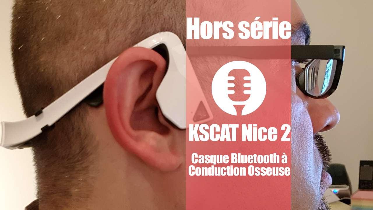 Casque à conduction osseuse: KSCAT Nice 2