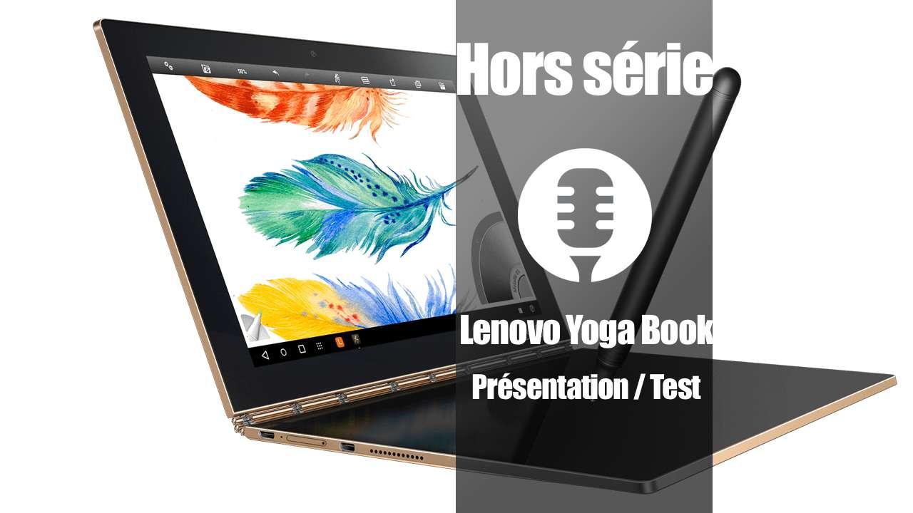 Présentation du Lenovo Yoga Book Android