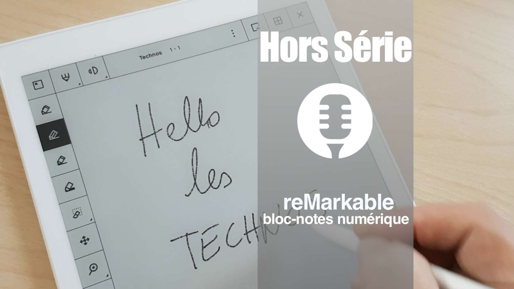 reMarkable: bloc-note numérique.