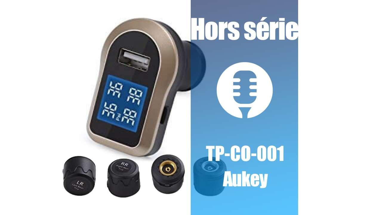 Hors série: Système de contrôle de la pression des pneus de Aukey (présentation)