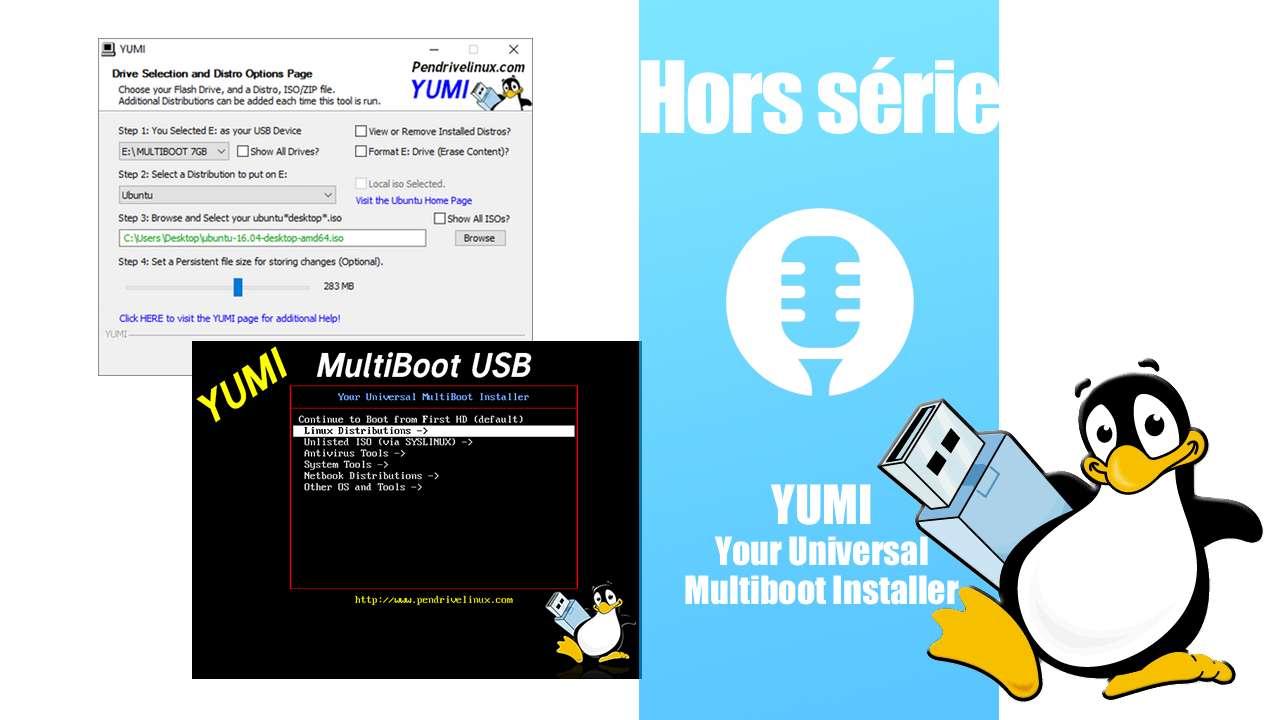 Hors série: YUMI, Your Universal Multiboot Installer