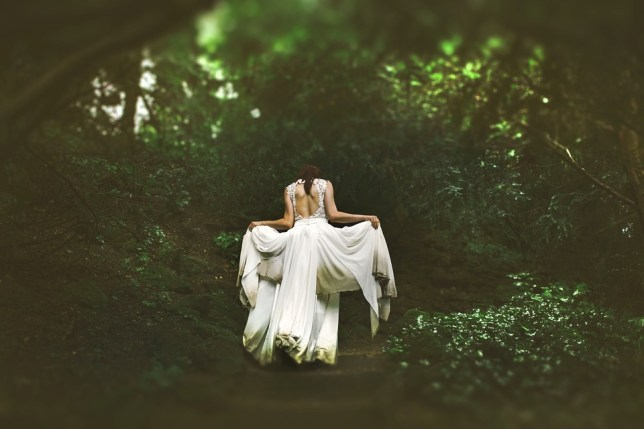 Protégez robe de mariée