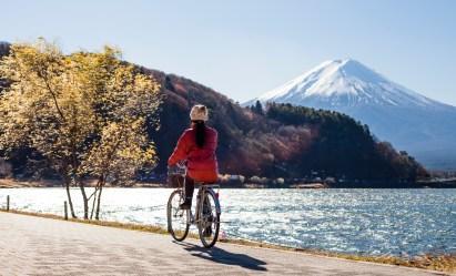 nettoyage robe lune de miel mont fuji japon