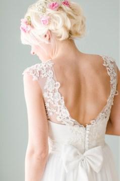 pressing robe de mariée décolleté morphologie