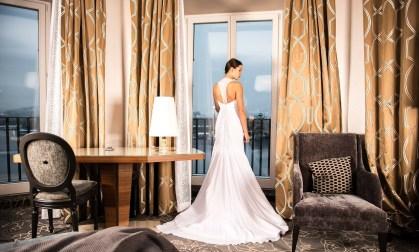 pressing robe de mariée blanche