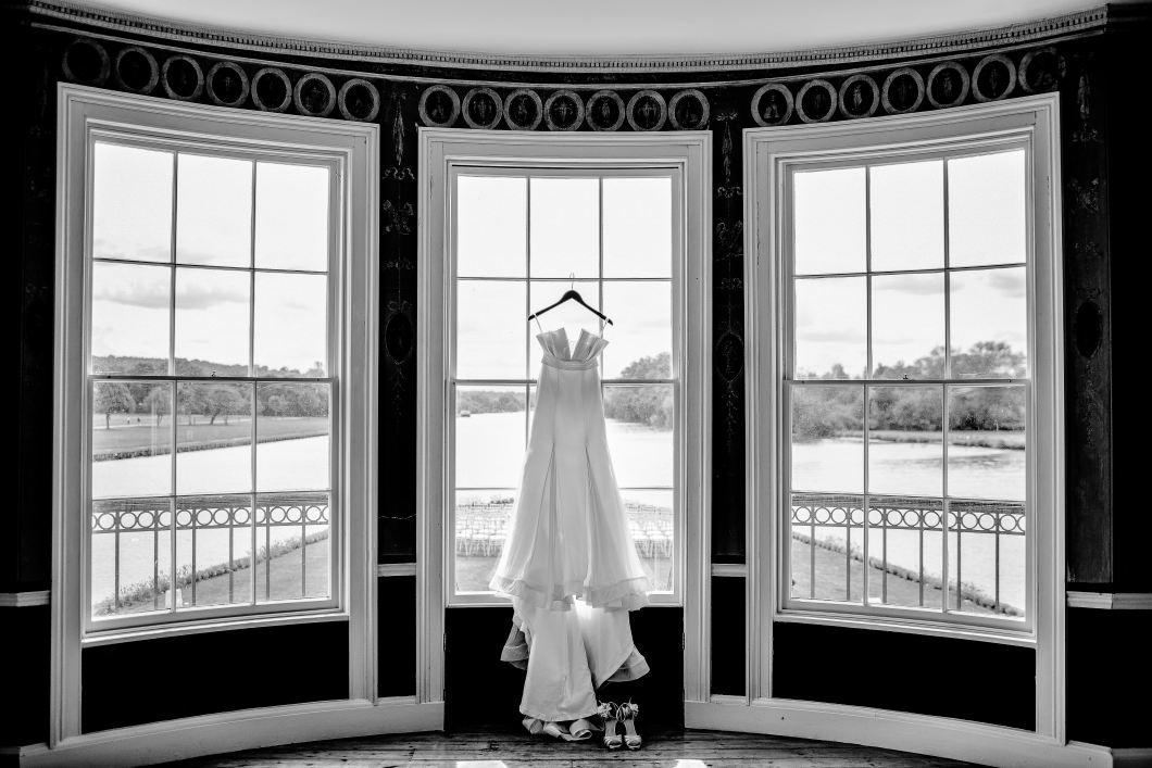 pressing robe de mariée château
