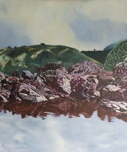 acrylic on canvas 750 x 750