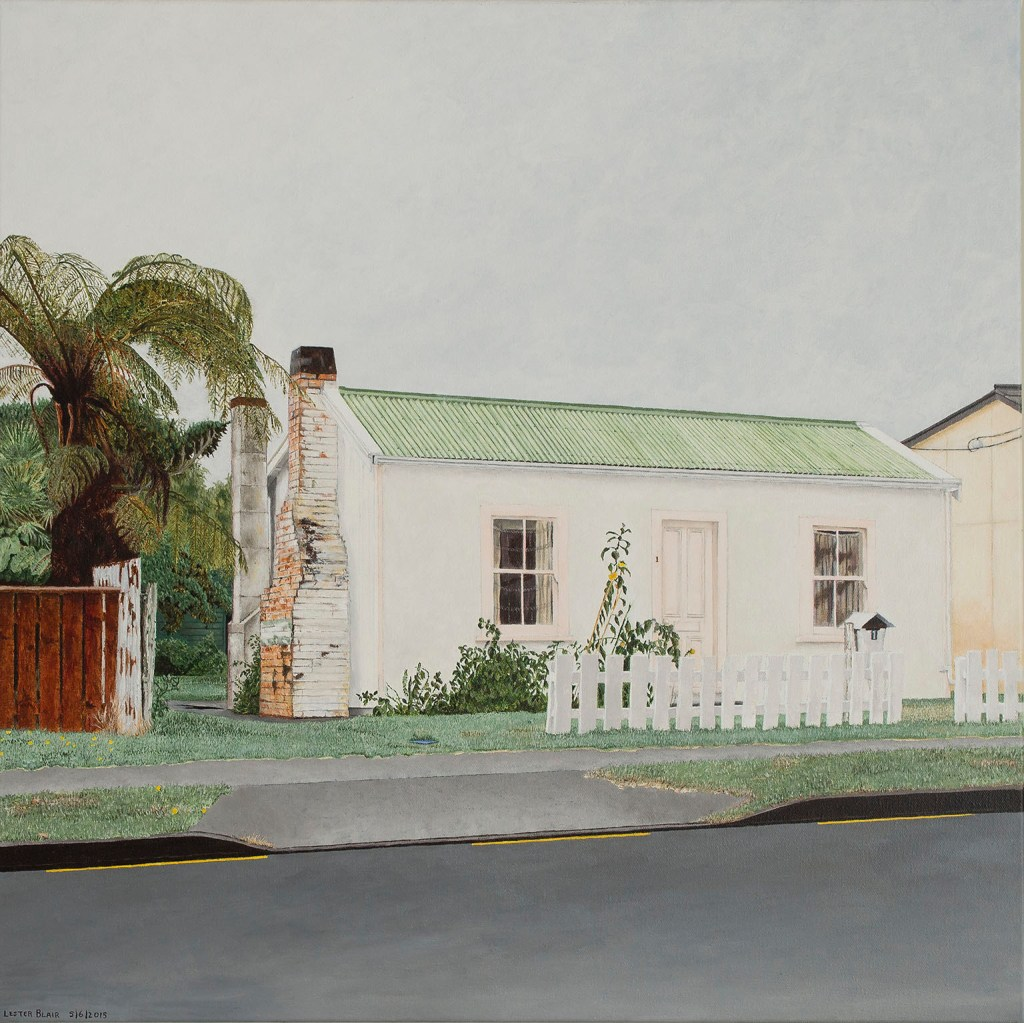 a painting by Lester Blair, Small Cottage