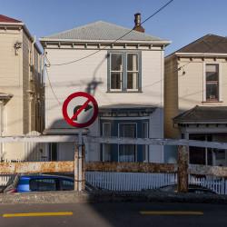 Street Scene, Roxburgh Street #1