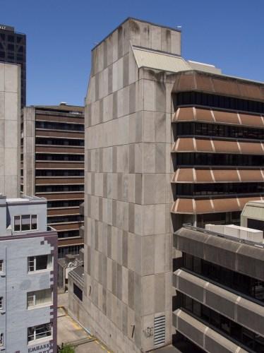 Buildings on Boulcott Street, Wellington New Zealand
