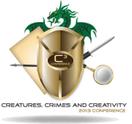 Crime, and Creativity Logo