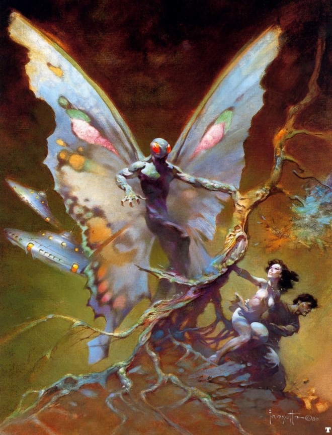 Frazetta's Moth Man