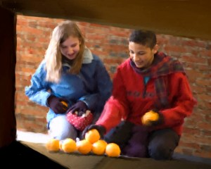 Giving Oranges