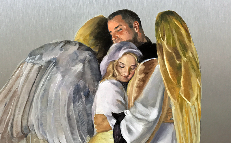 Latest Angel Painting