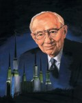 President Hinckley and the Washington, D.C. Temple