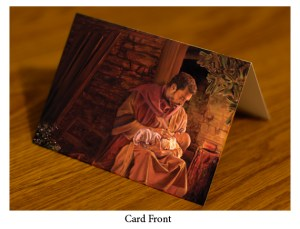 While Mary Sleeps Card Front 3D