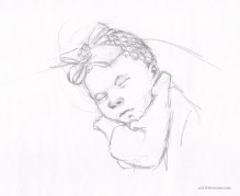 Sketch of Newborn