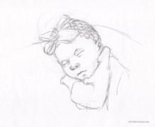 Sketch of Newborn
